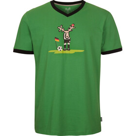 Elkline Ecke T-shirt Heren, grass